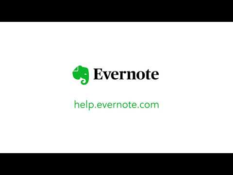 How to Use Templates in Evernote