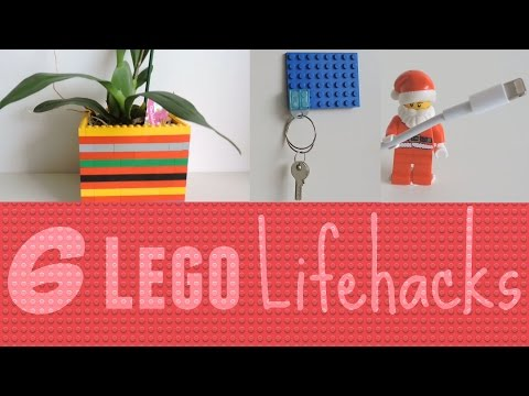6 LEGO Lifehacks