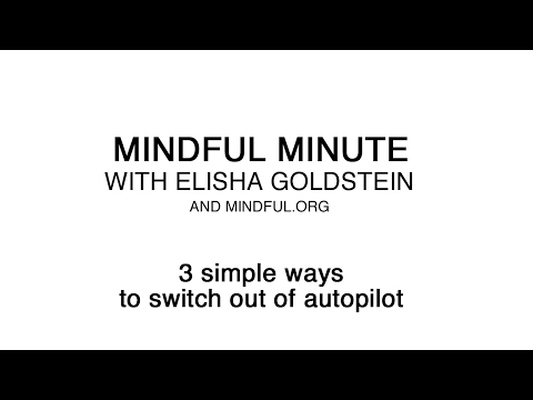 3 Simple Ways to Get Out of Autopilot