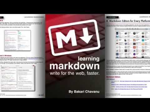 Learn The Basics Of Markdown in 10 Minutes With This Video Tutorial