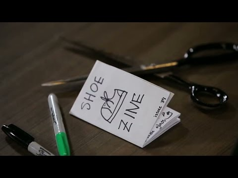 How to make a zine from one piece of printer paper