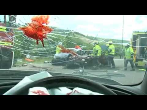 PSA Texting while Driving U.K. Ad [HD]