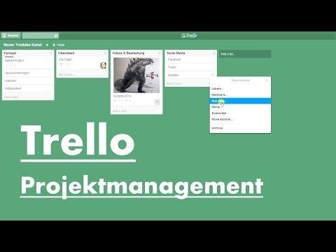 Projekte organisieren mit Trello | Grundlagen Tutorial deutsch