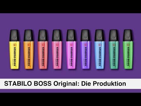 Textmarker STABILO BOSS Original – Die Produktion