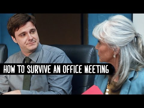 How to Survive an Office Meeting – You Got This