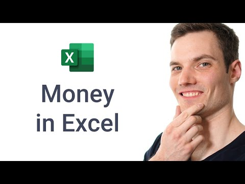 How to use Money in Excel