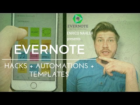 HOW TO CREATE AN AWESOME GRAPHIC DASHBOARD IN EVERNOTE | EVERNOTE Hacks + Automations + Templates