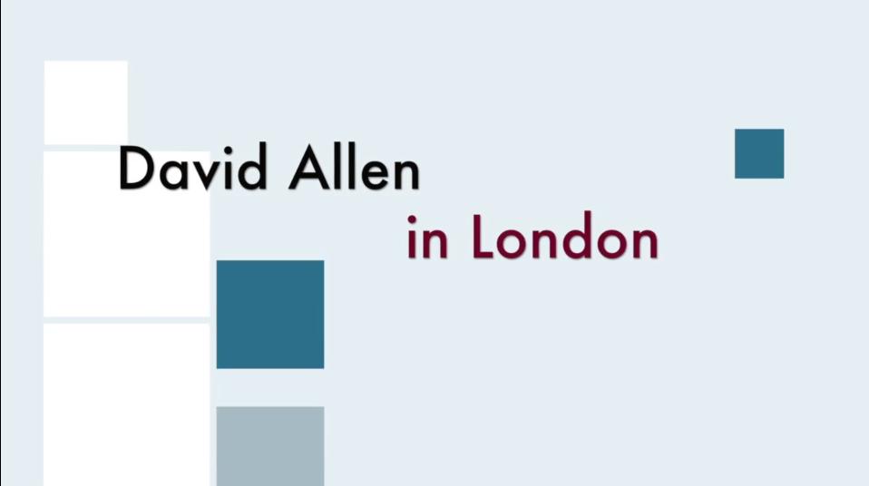 David Allen Interview