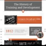Die Geschichte des Trainings und der Personalentwicklung