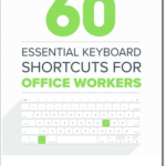Tastaturkürzel für MS Office auf einen Blick