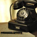 Telefonieren ist besser als Schreiben