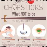 Wie man richtig mit Stäbchen isst