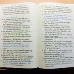 Wie ich mein Notizbuch führe