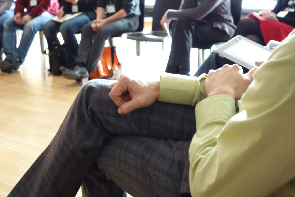 Wichtige Rollen in der Besprechung